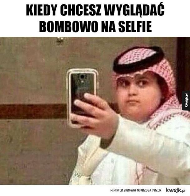 Bombowe selfie