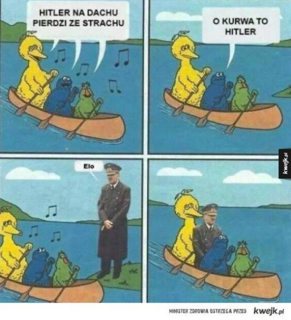 Hitler na dachu