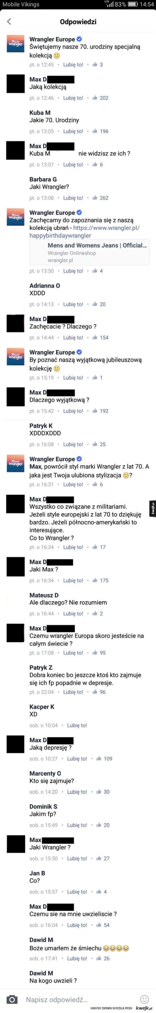 Trollowanie na facebooku