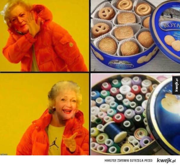 Ciasteczka? W życiu!