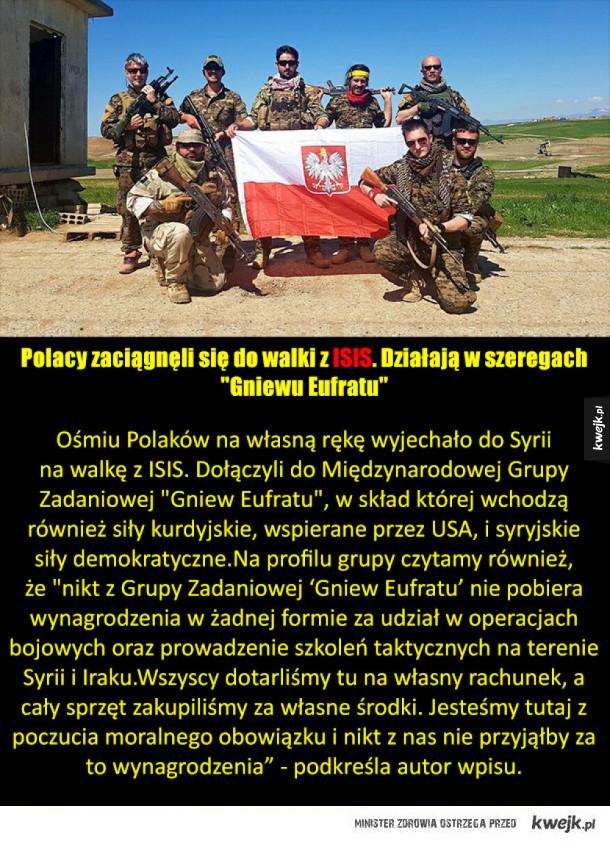 Polacy walczą z Isis