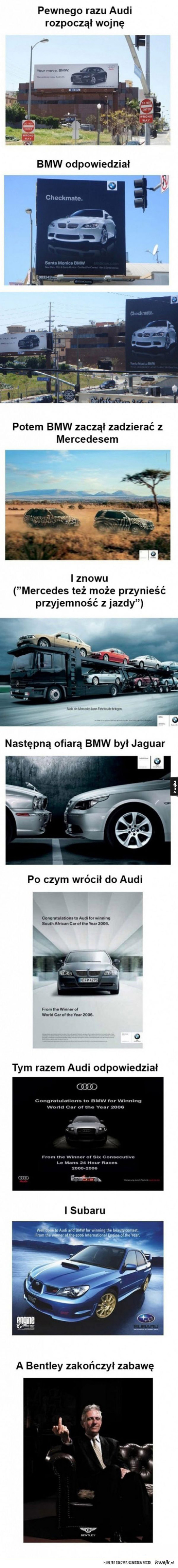 Wojna BMW z Audi