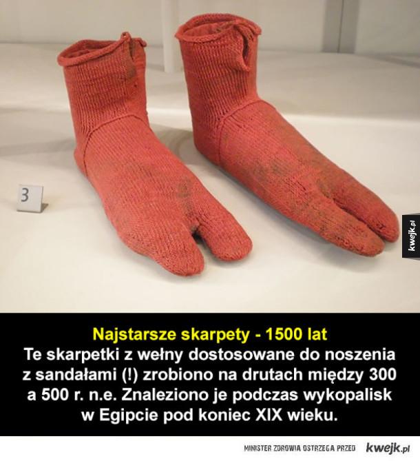 Najstarsze rzeczy na świecie