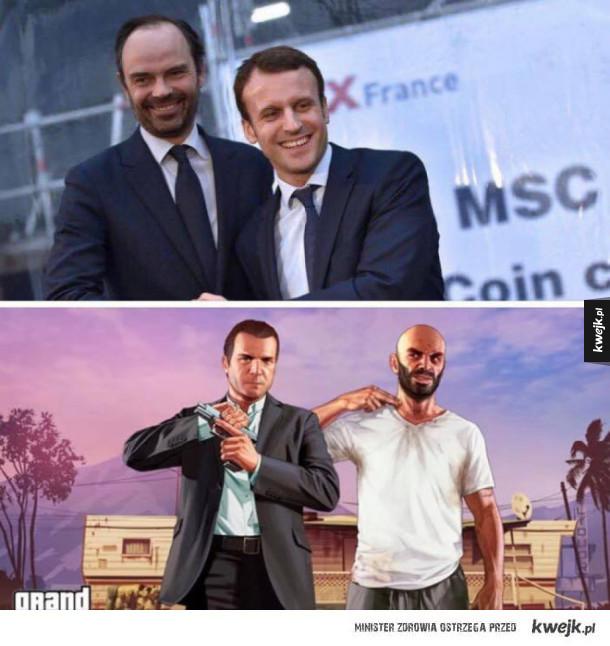 Premier i Prezydent Francji