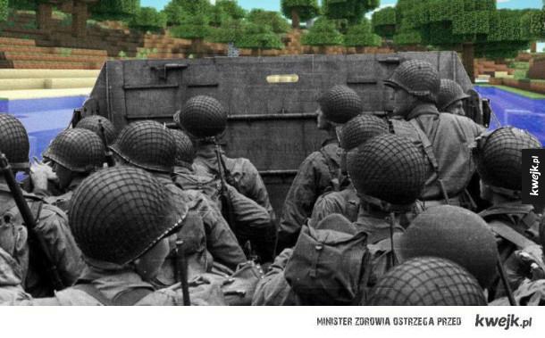 Nieznane dotąd zdjęcie z inwazji na Normandię