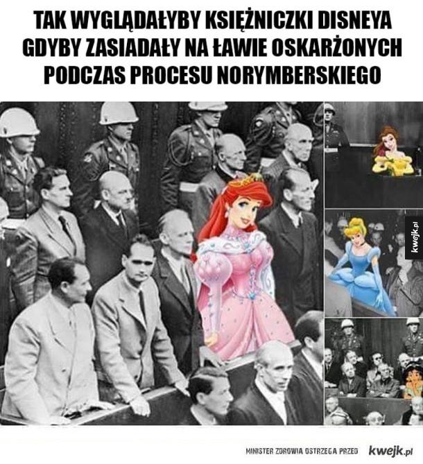 Księżniczki Disneya jako nazistki