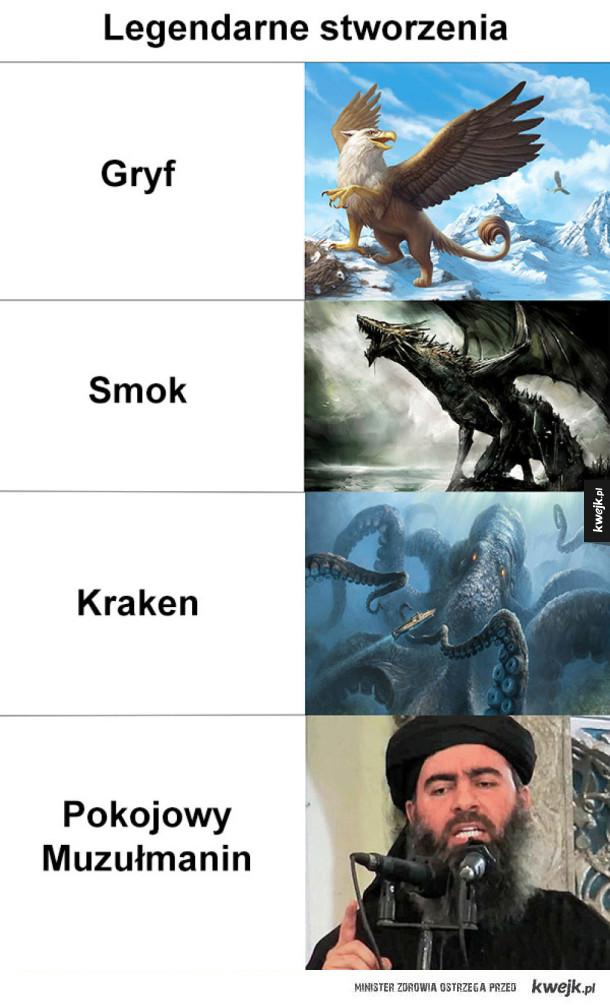 legendarne stworzenia