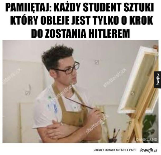 Dbajcie o studentów ASP