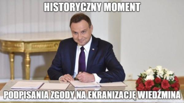Historyczny moment
