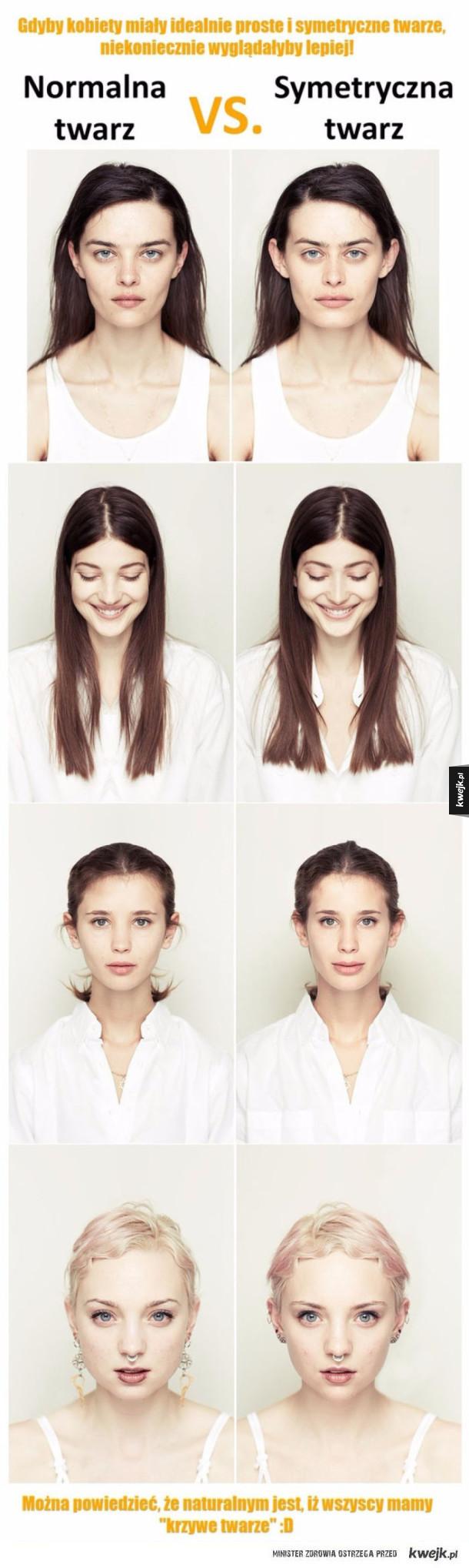 Symetryczna twarz