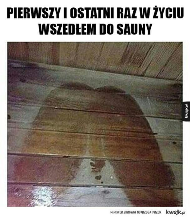Nigdy więcej sauny
