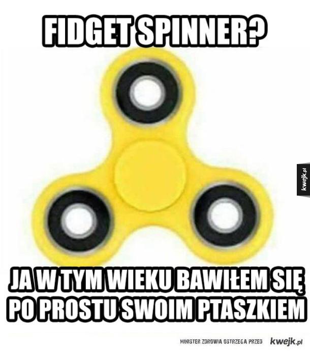Śmieszki z fidget spinnerów