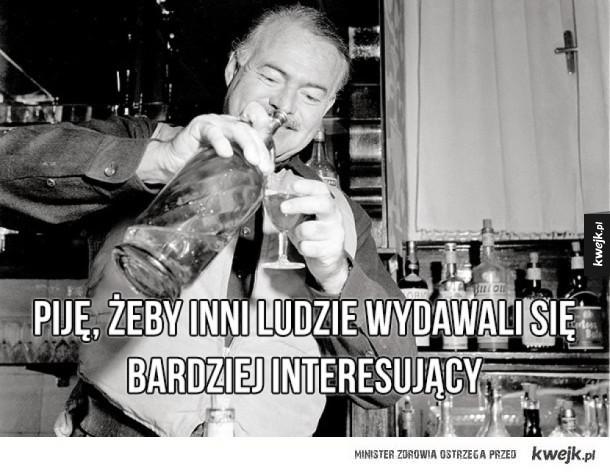 Inspirujące cytaty Ernesta Hemingwaya