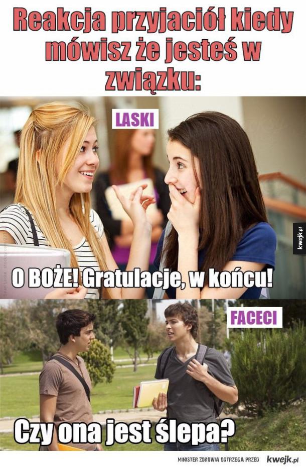 Reakcja przyjaciół