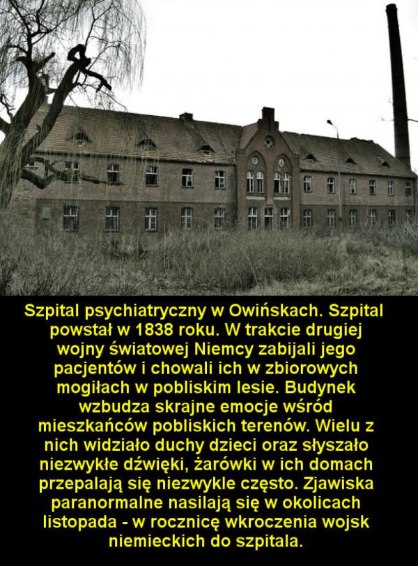Nawiedzone miejsca do zobaczenia w Polsce