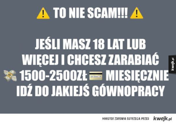 to nie scam