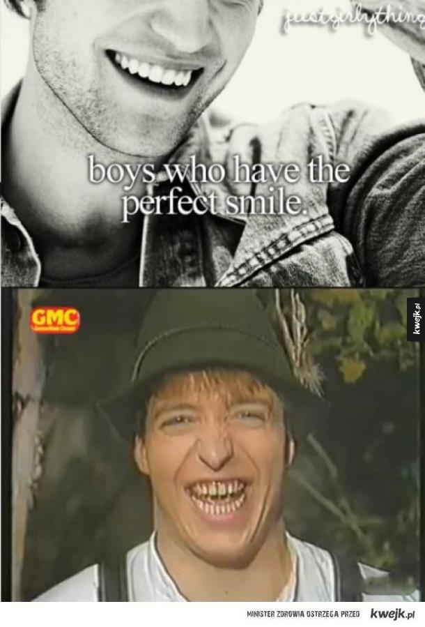 perfekcyjny uśmiech