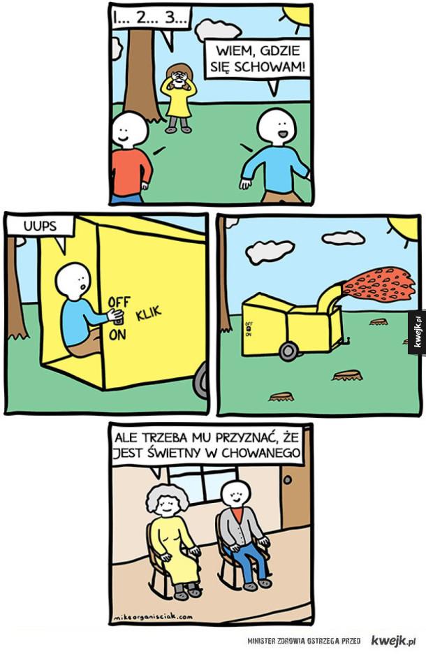 Komiksy autorstwa faceta, który podobno nie wie, jak się rysuje komiksy