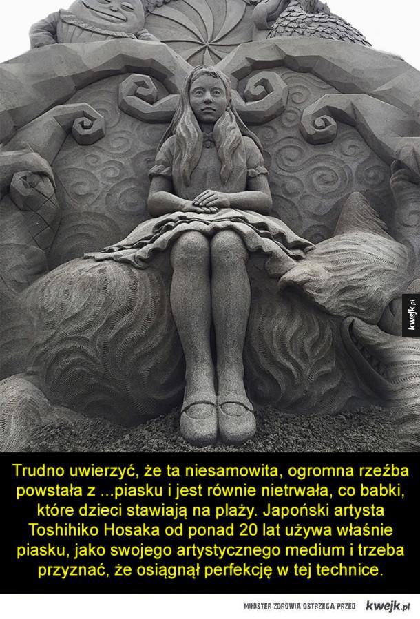 Piękne rzeźby z nietypowego materiału