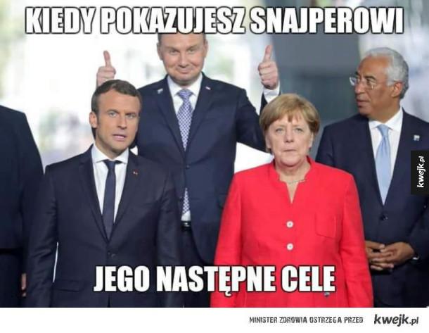 Andrzejek poleciał