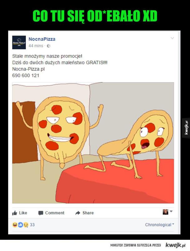 promocja pizzy