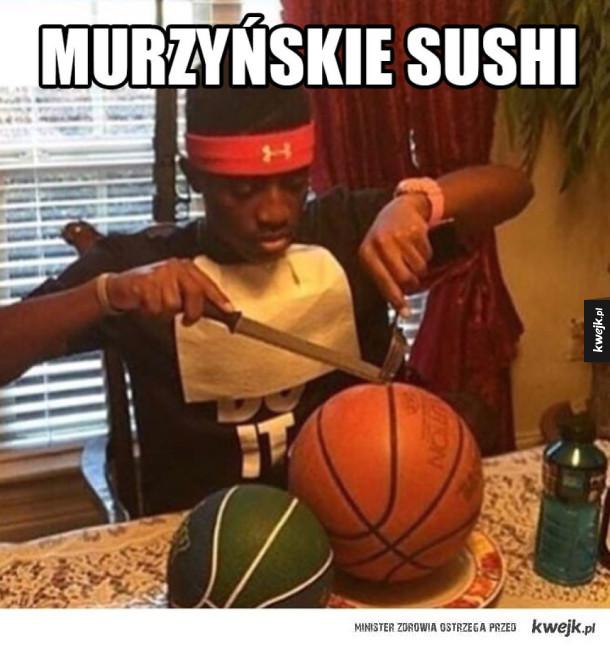 Sushi według murzynów