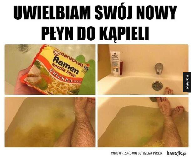 Nowy płyn do kąpieli