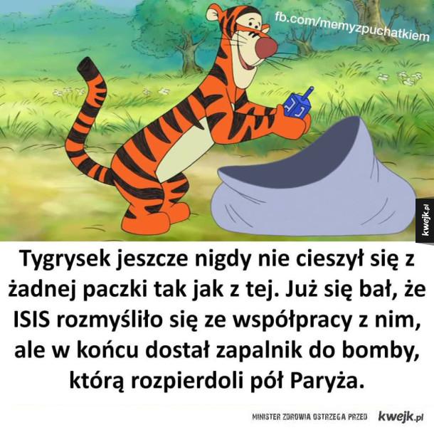 Tygrysek kombinuje