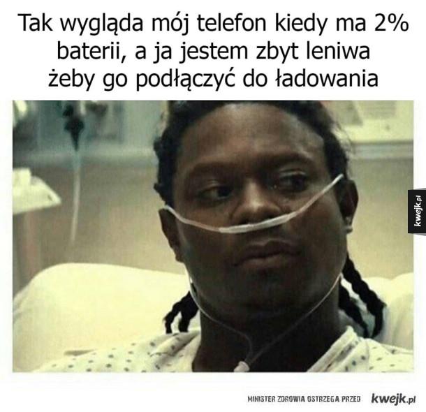 Biedny telefon