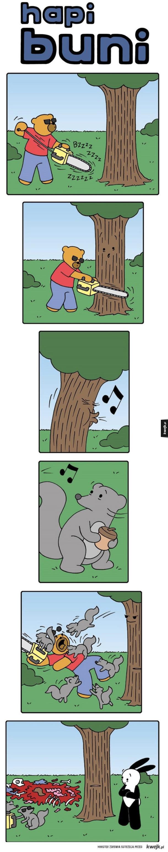 System obronny drzew