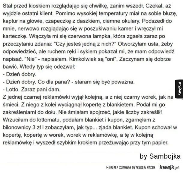 14 autentycznych sytuacji z pewnego polskiego kiosku