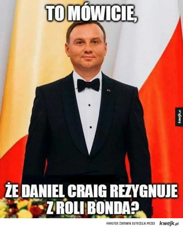Nowy Bond szykuje się do roli