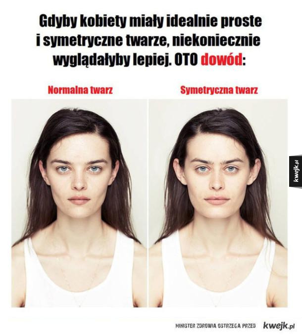 Symetryczne twarze
