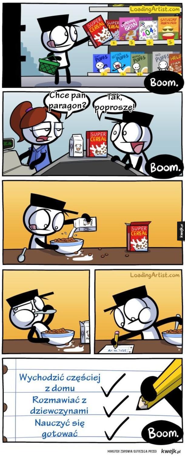 Komiksy Loading Artist