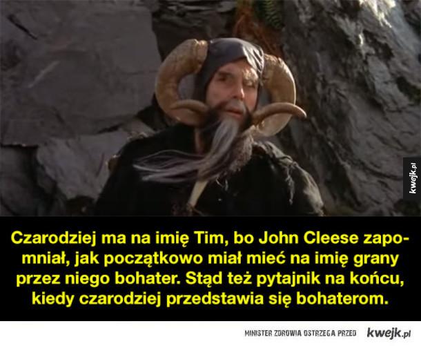 """Czego mogliście nie wiedzieć o filmie """"Monty Python i Święty Graal"""""""