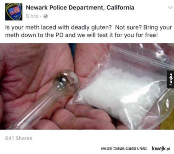 cwana policja w kalifornii