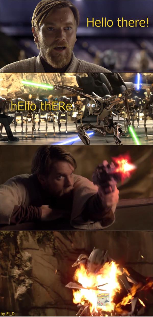 blah blah blah Generale Kenobi