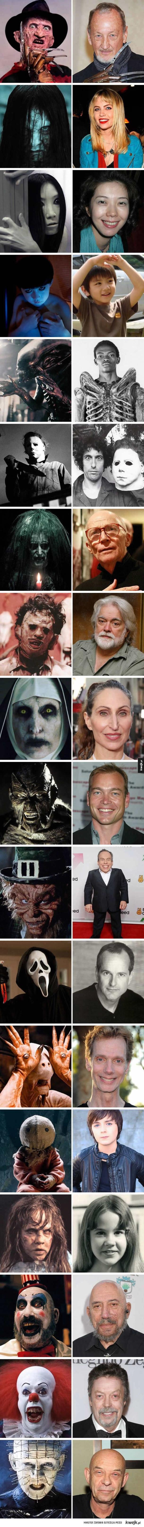 Aktorzy którzy grali w znanych nam horrorach