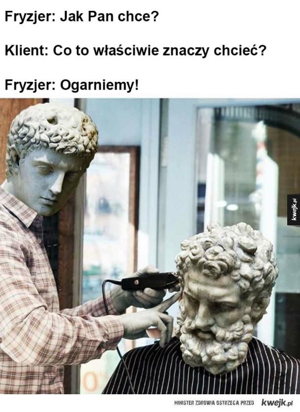 Filozof u fryzjera