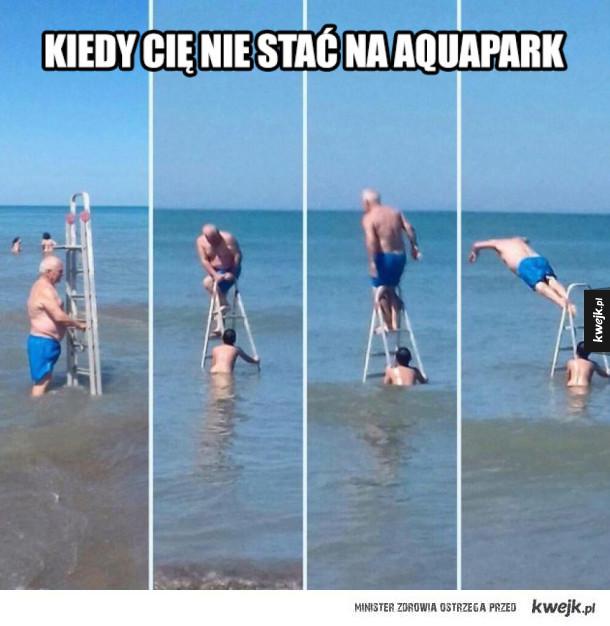 Kiedy cię nie stać na aquapark