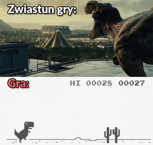 Zwiastun gry vs Gra