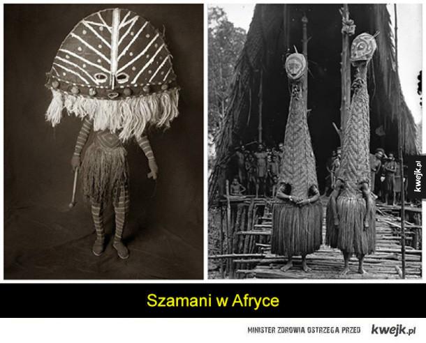 Stroje szamanów z całego świata