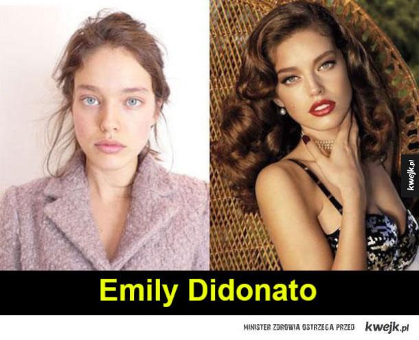 Słynne modelki bez makijażu