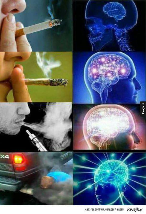 Różne rodzaje palenie