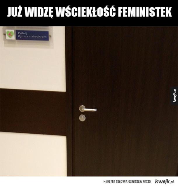 Feministki by oszalały