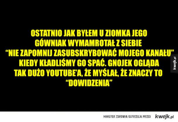 Polski Youtube powinien zostać zniszczony