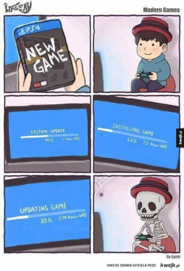 Playstation i ich aktualizacje...