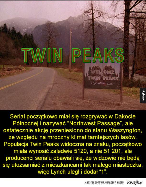 Kilka ciekawostek na temat Twin Peaks