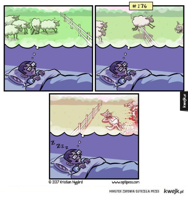 Liczenie owiec