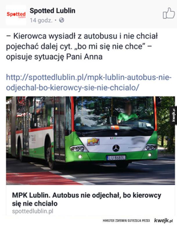 Taka sytuacja w Lublinie